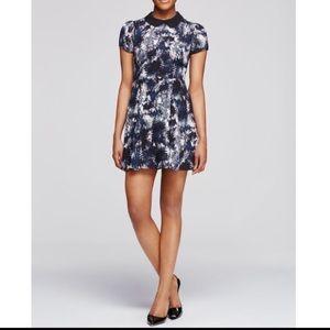Aqua Collared Dress